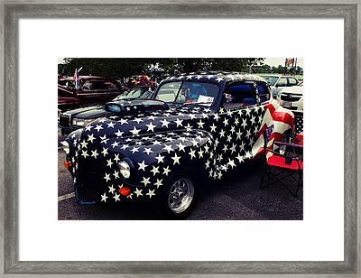 Remembering 9/11 Framed Print