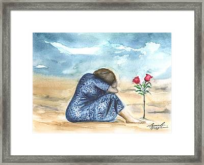 Remembering A Loved One Framed Print