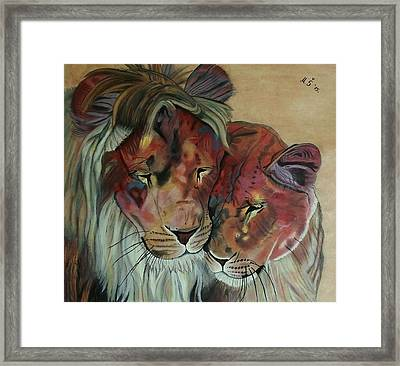 Remembering Cecil Framed Print