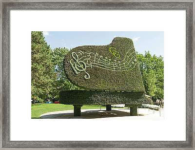 Remembering Glenn Gould Is The Title Of This Piece Framed Print
