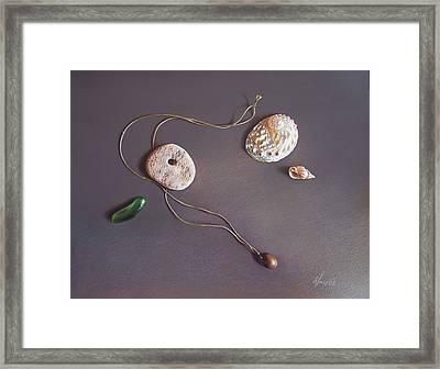 Remembering Last Summer... Framed Print by Elena Kolotusha