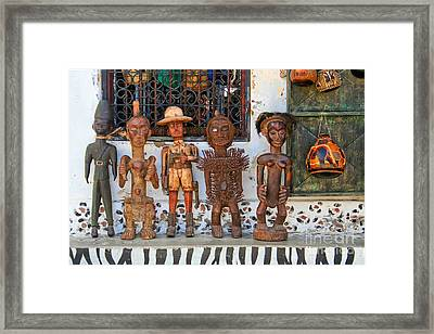 Remembering Mombasa Framed Print by Irene Abdou