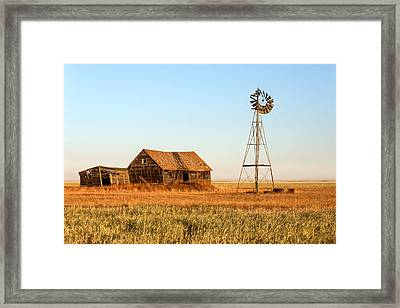 Remembering Old Whitewater Framed Print