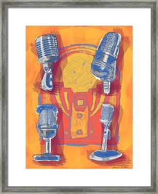 Remembering Radio Framed Print