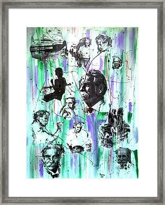 Remembering Schweitzer Framed Print