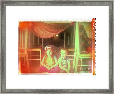 Remembering Sukkos Framed Print