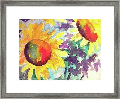 Remembering Summer Framed Print