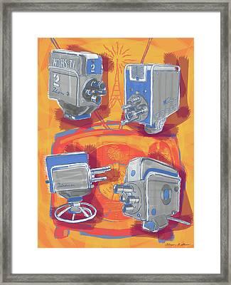 Remembering Television Framed Print