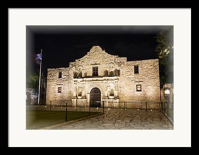 Republic Of Texas Framed Prints