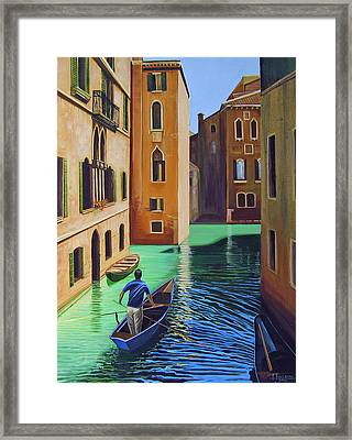 Remembering Venice Framed Print