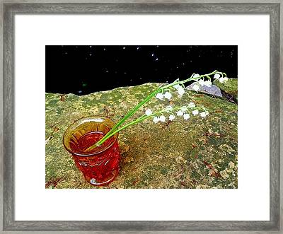 Remembrance Of Mom 1 Framed Print by Beth Akerman