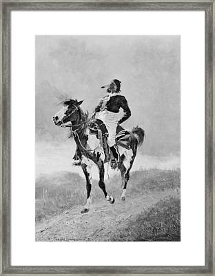 Remington: Comanche, C1890 Framed Print by Granger
