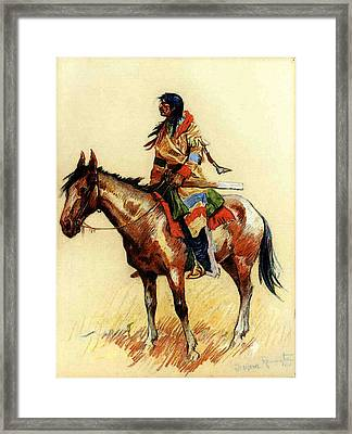 Remington Frederic A Breed Framed Print