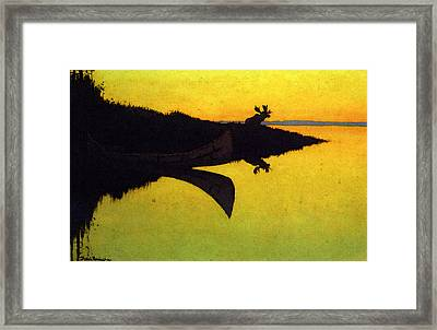 Remington Frederic Comming To The Call Framed Print