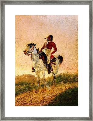 Remington Frederic Modern Comanche Framed Print