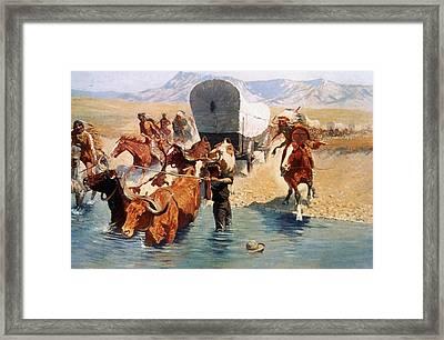 Remington: The Emigrants Framed Print by Granger