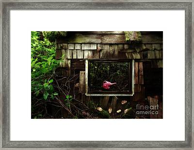 Reminiscence Of Childhood Framed Print