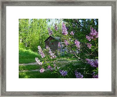 Reminiscence Framed Print