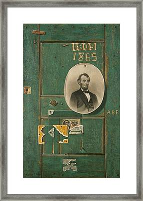 Reminiscences Of 1865 Framed Print