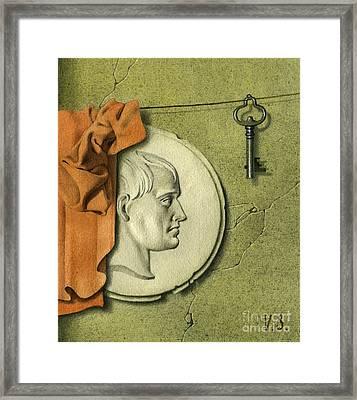 Reminiscences Of History Framed Print