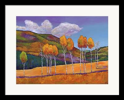 Tall Trees Framed Prints