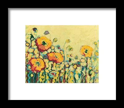 Modern Impressionist Framed Prints