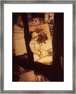 Remnants Of 1919 Framed Print by Jill Baker