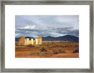 Remnants Of Life Framed Print