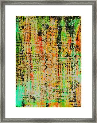 Remnants Of The Homeland Framed Print by Wayne Potrafka