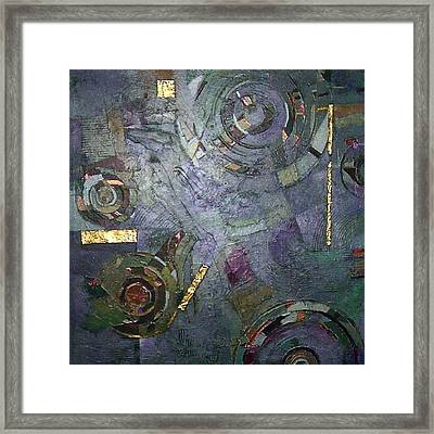 Remnants Of Time Framed Print by Bernard Goodman