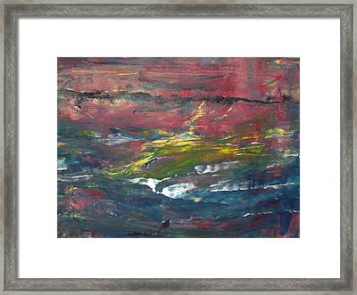 Remote Area Framed Print by Rivka Waas