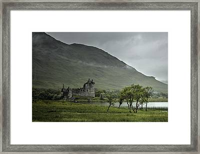 Remote Framed Print by Chris Whittle