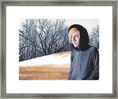 Remote Framed Print by Denny Bond