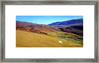 Remote Port - Donegal Ireland Framed Print