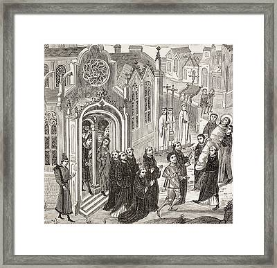 Removal, By St. Baudillon And The Framed Print by Vintage Design Pics