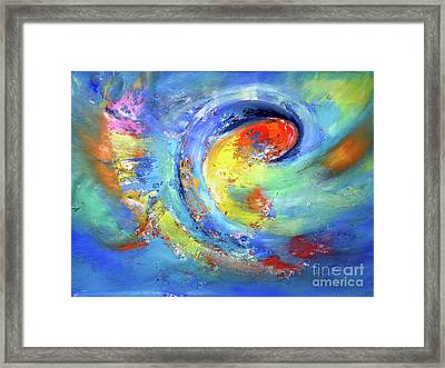 Angel Tried  For Living Without Rules Framed Print