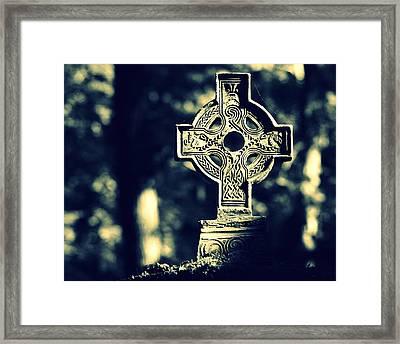 Renaissance Cross Framed Print by Joseph Skompski