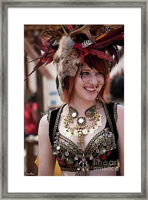 Renaissance Girl Framed Print