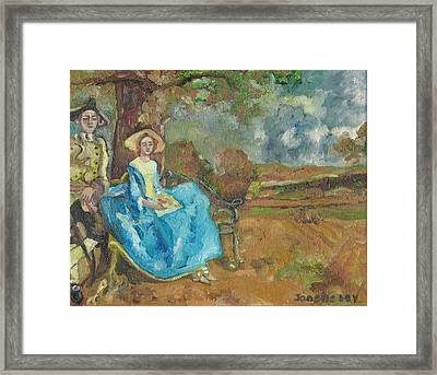 Framed Print featuring the painting Renaissance by Janelle Dey