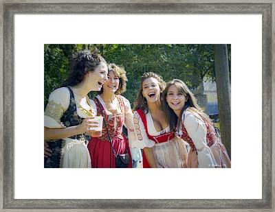 Renaissance Ladies Framed Print