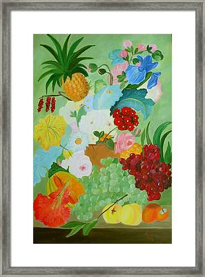 Renaissance Pleasure Framed Print by Alanna Hug-McAnnally