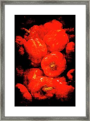 Renaissance Red Peppers Framed Print
