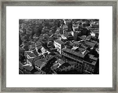 Renaissance Streets - 2 Of 2 Framed Print by Alan Todd