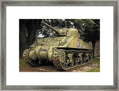 Renard Tank, France Framed Print