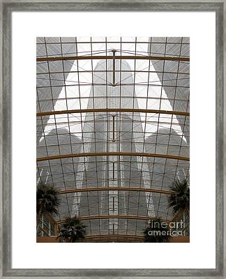 Rencen From Within Framed Print by Ann Horn