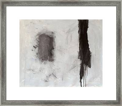 Rencontre Avec L'infini Framed Print