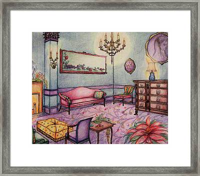 Rendering No.1 Framed Print by Hye Ja Billie