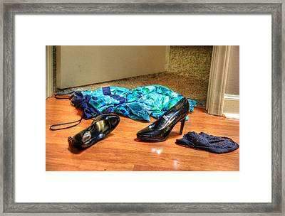 Rendezvous Do Not Disturb 04 Framed Print by Andy Lawless