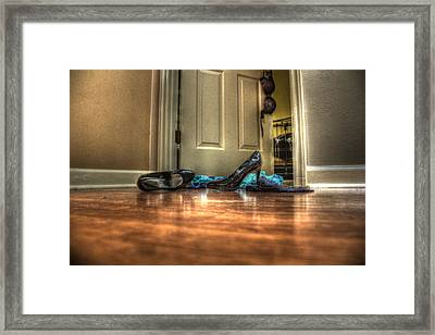 Rendezvous Do Not Disturb 05 Framed Print by Andy Lawless