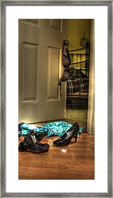 Rendezvous Do Not Disturb 06 Framed Print by Andy Lawless